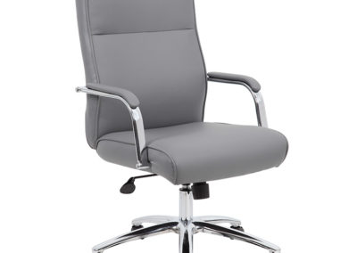 Gray Boss Conference Chair B696C