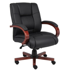 Black Boss Conference Chair B8996 C