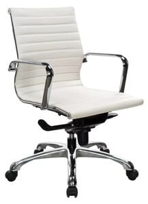 Performance Nova 10821K White Conference Chair