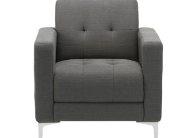 Performance Hagen 9071 Gray Lobby Lounge Chair