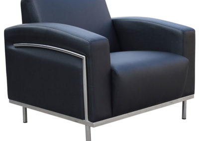 Boss Black CaressoftPlus BR99001 Lobby Lounge Chair