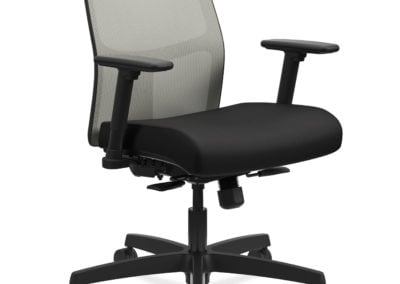 HON Ignition Black Task Chair With Mesh Back