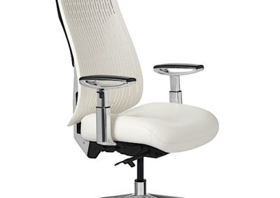 Office Master Truly Task Chair in White