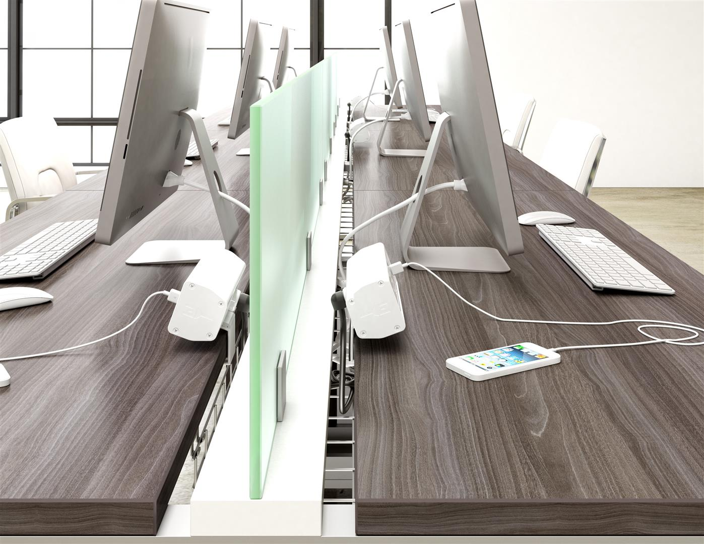 Deskmakers Synapse Benching System Arenson Office Furniture